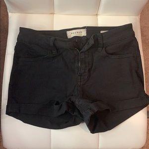 PacSun Black Jean Shorts